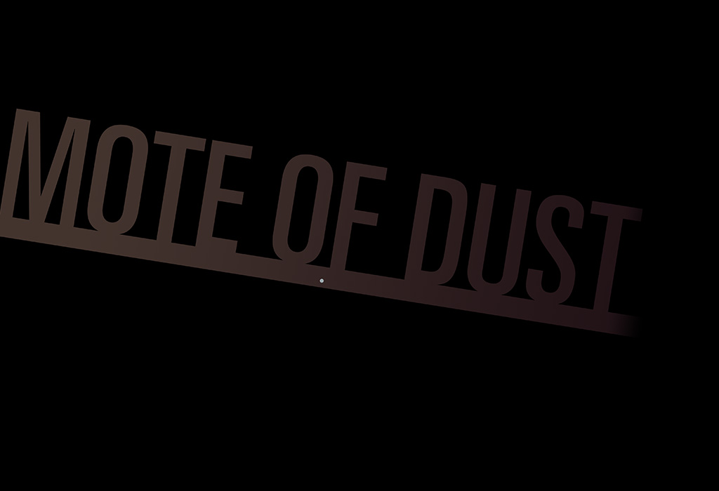 mote of dust